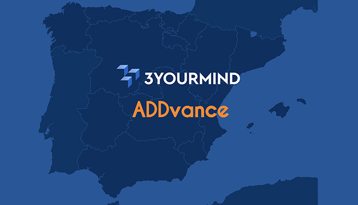 ADDvance is selected as 3YOURMIND service partner and official distributor in Spain