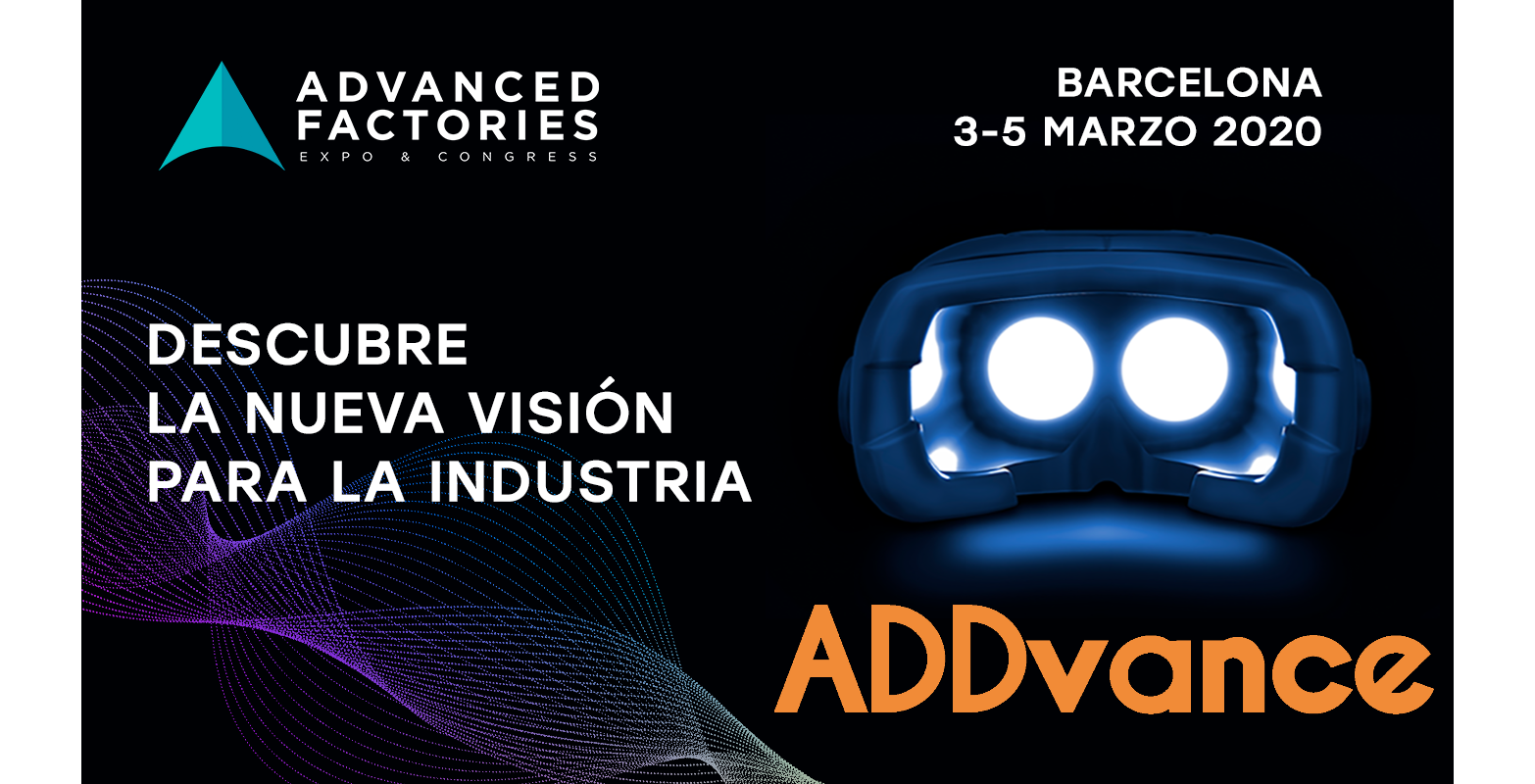 ADDvance will participate in the Industry 4.0 Congress at ADVANCED FACTORIES