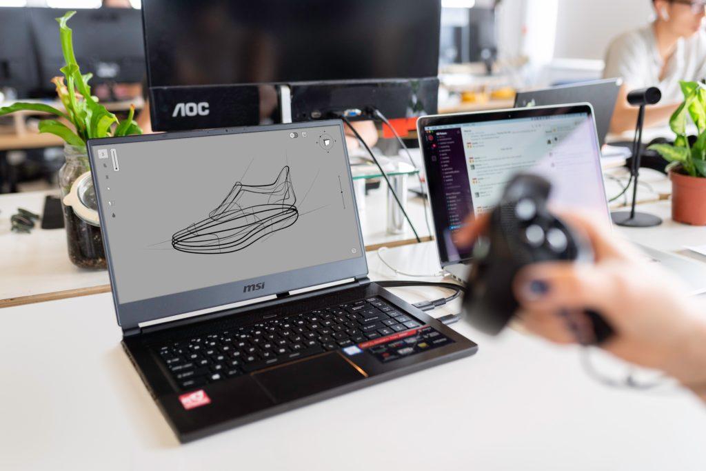 Creación rápida prototipos sneaker