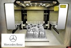 colectores de agua del motor de Mercedes-Benz
